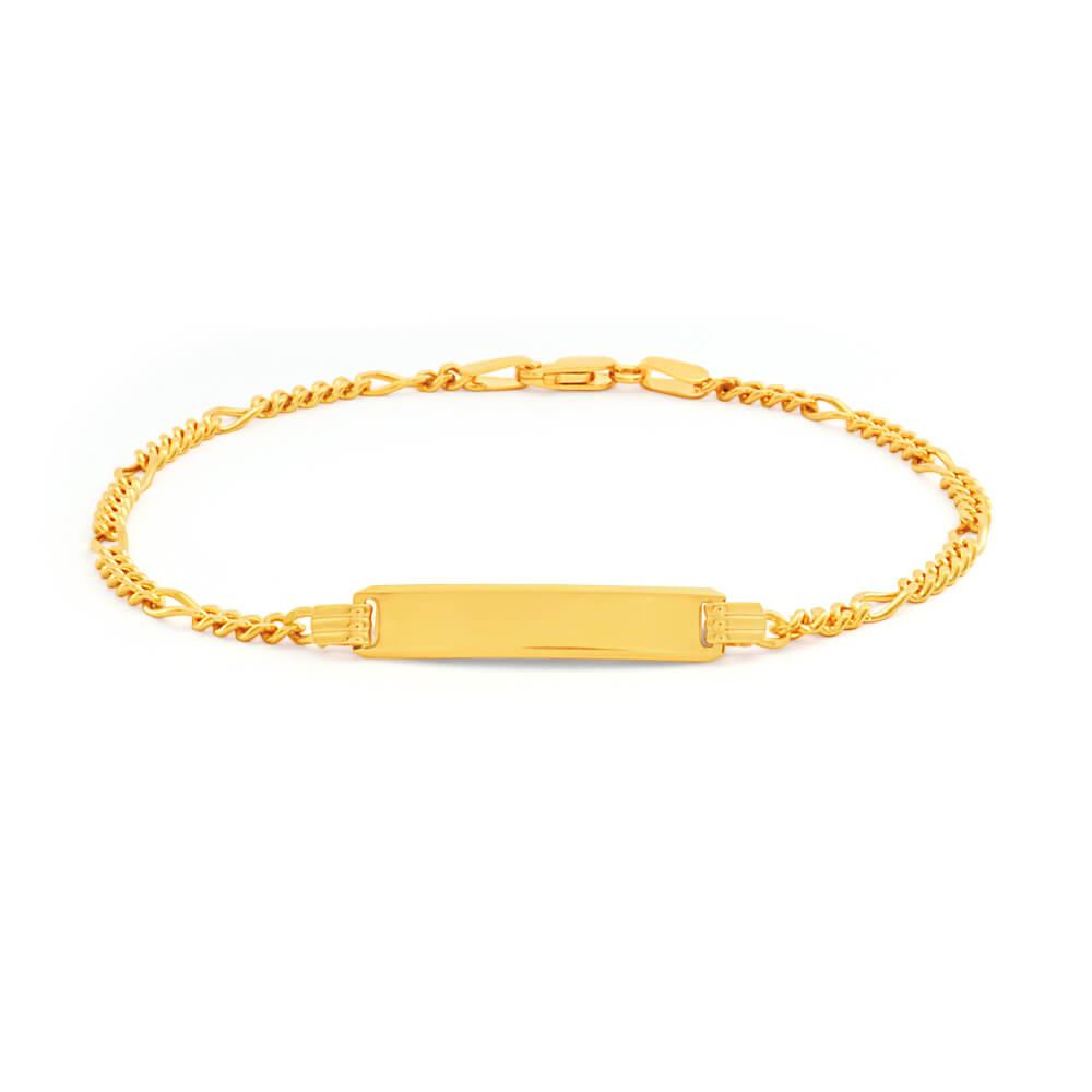9ct Yellow Gold Splendid Bracelet