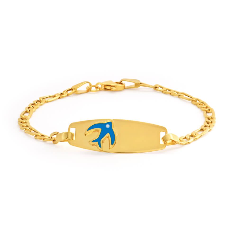 9ct Yellow Gold  Enticing Bracelet