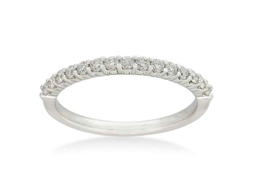"""Serena"" 18ct White Gold Eternity Ring with 1/4 Carat of Diamonds"