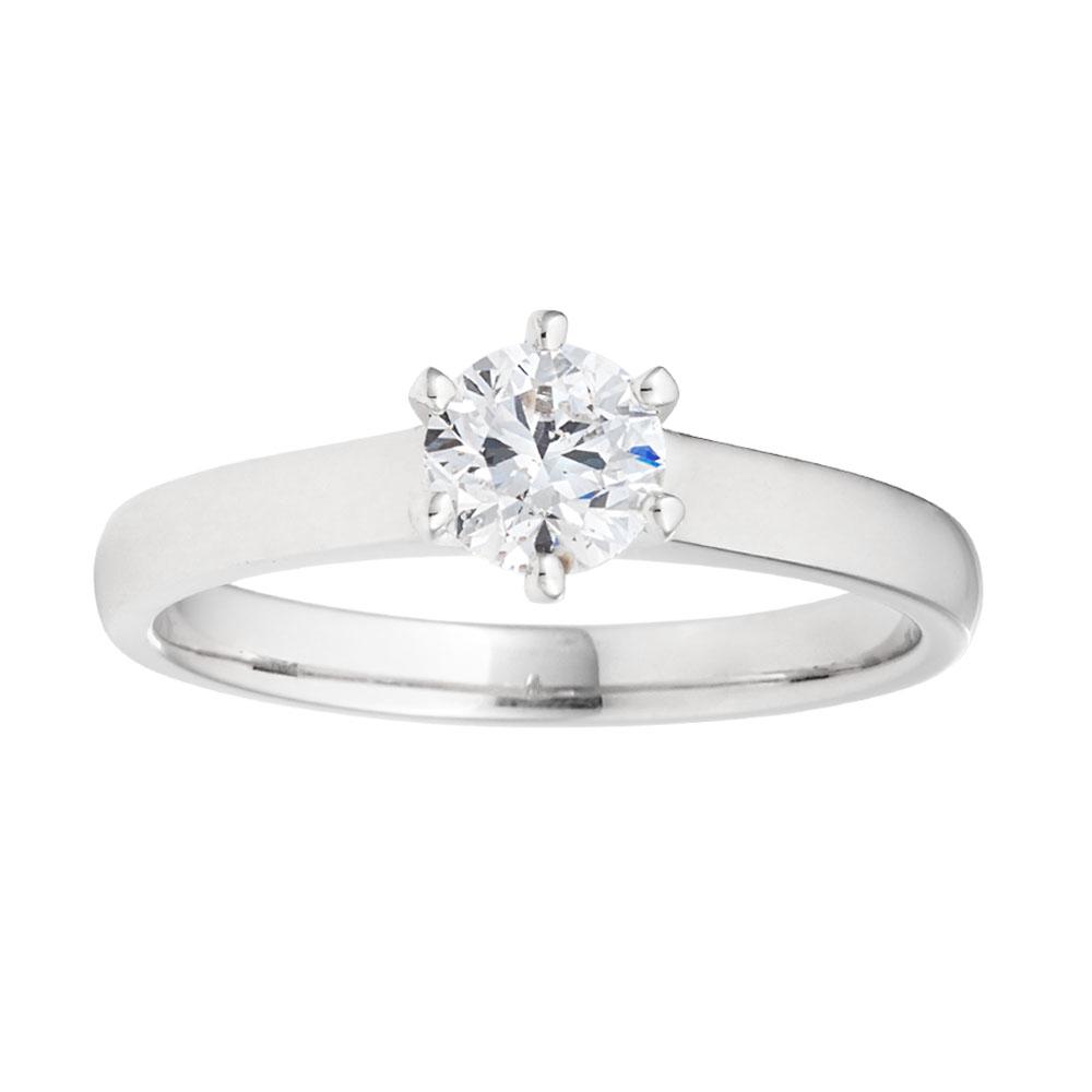 18ct 0.70 Carat DF SI CERTIFIED Diamond Solitaire
