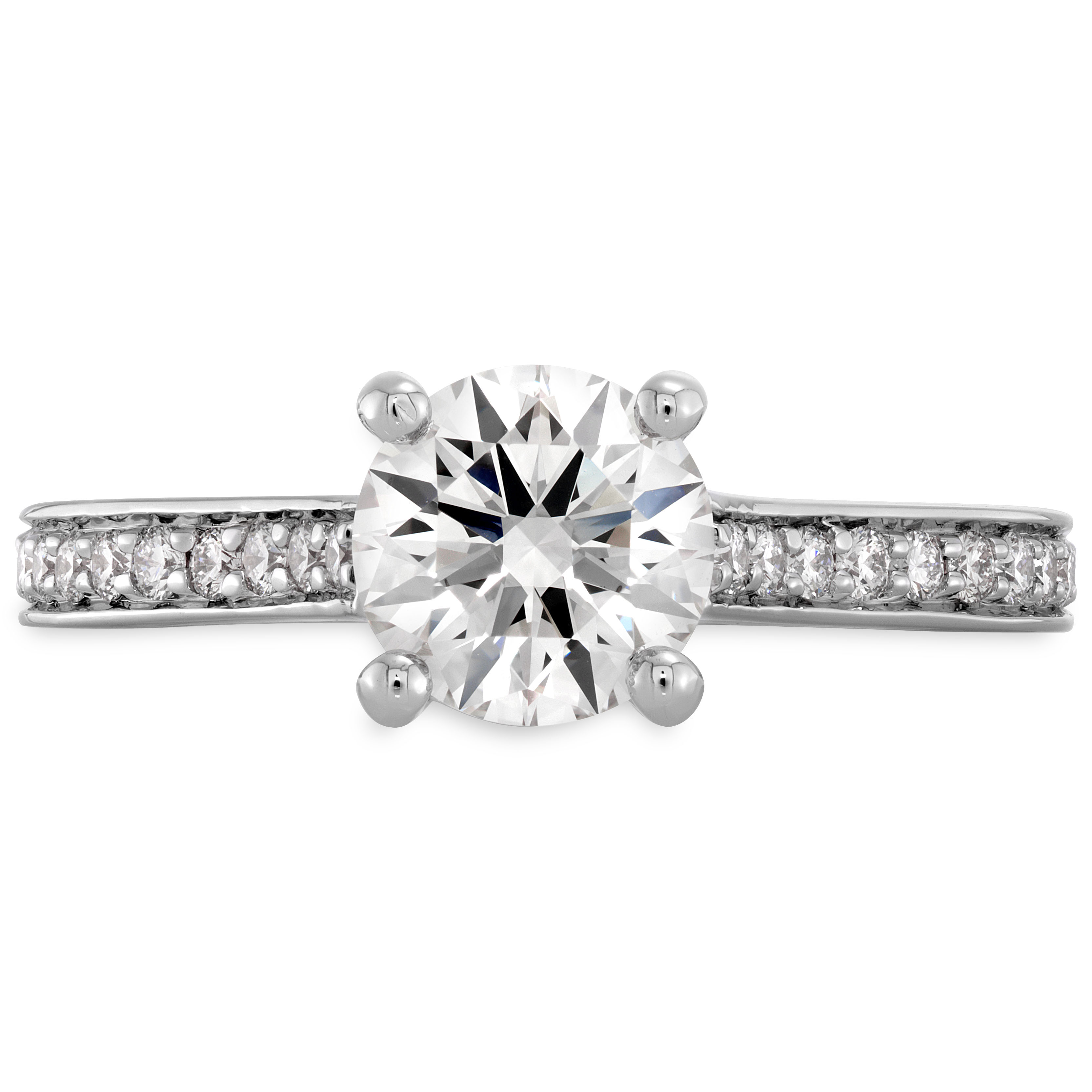 Hearts On Fire  Sensational Enticement  Solitaire Engagement Ring