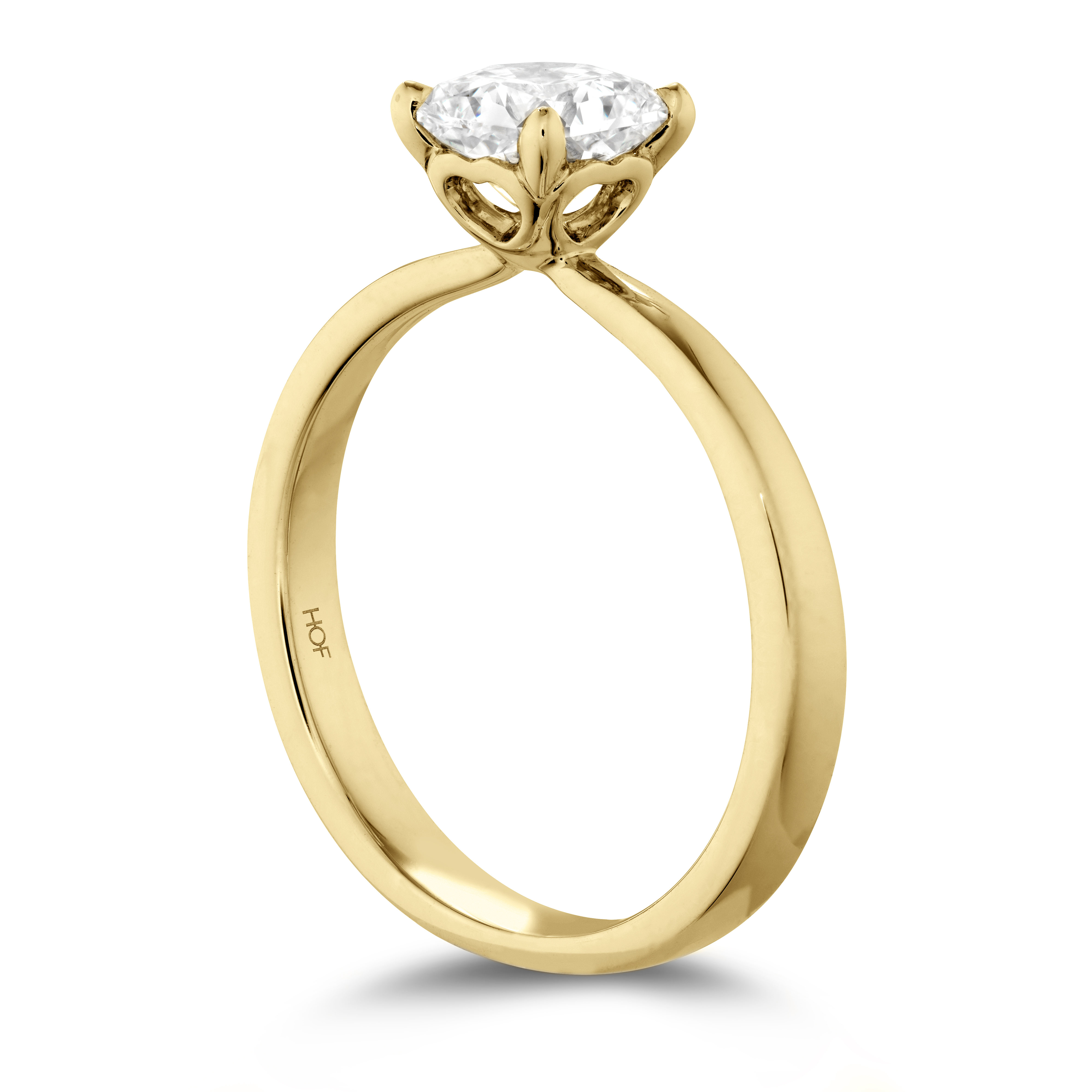 Hearts On Fire Dream Signature Solitaire Engagement Ring