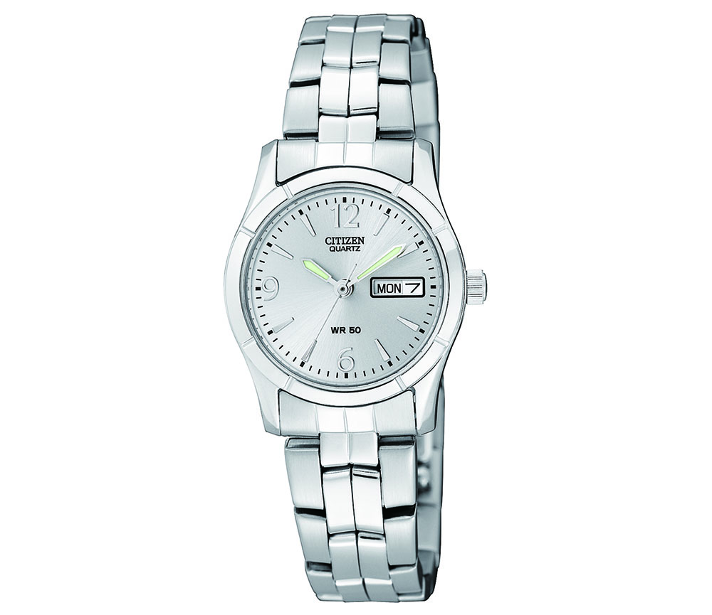 Citizen EQ0540-57A Womens Silver Tone Watch