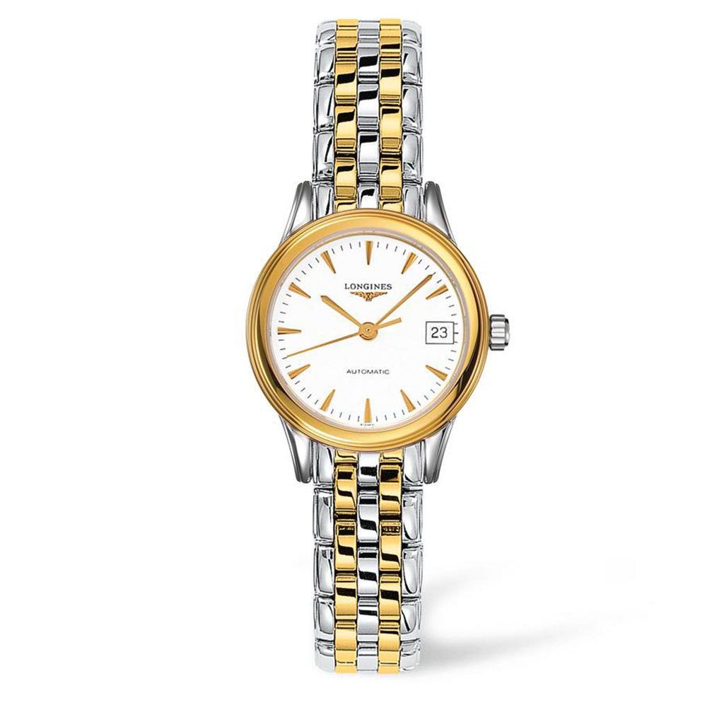 Longines Flagship L42743227 Two-Tone Womens Watch