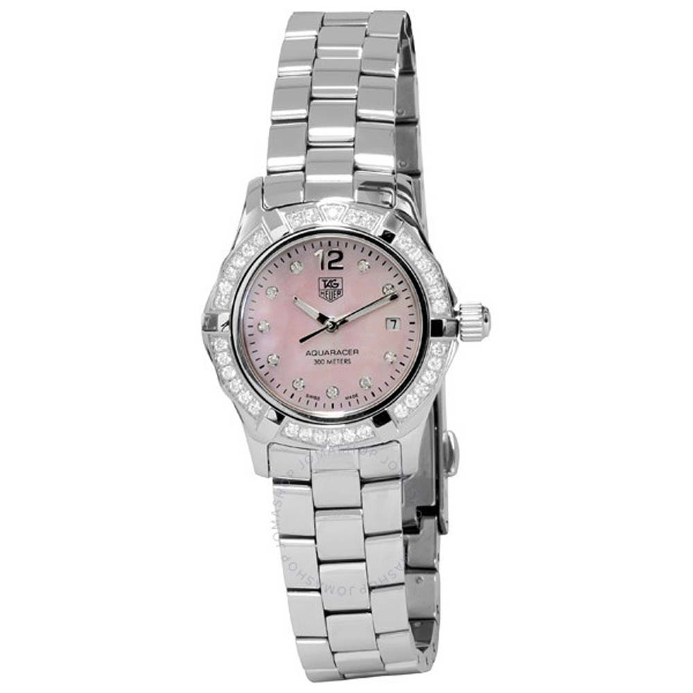 TAG Heuer Aquaracer WAF141BBA0824 Silver Stainless Steel Womens Watch