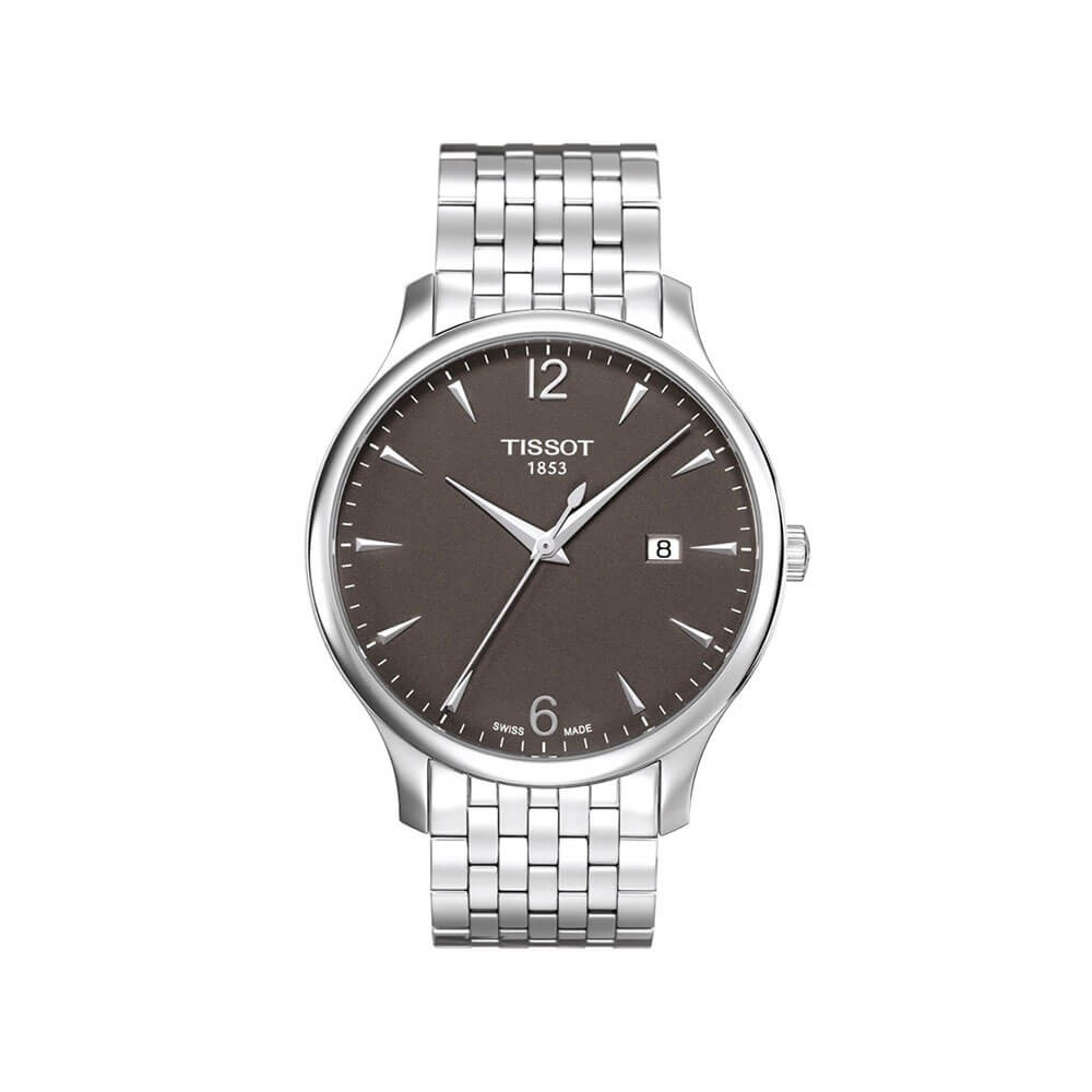Tissot Tradition T0636101106700 Silver Stainless Steel Mens Watch