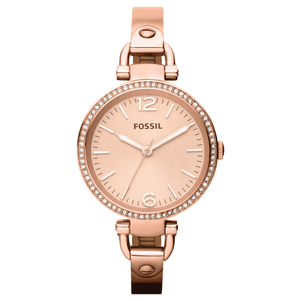 Fossil 'Georgia' ES3226 Ladies Stone Set Watch