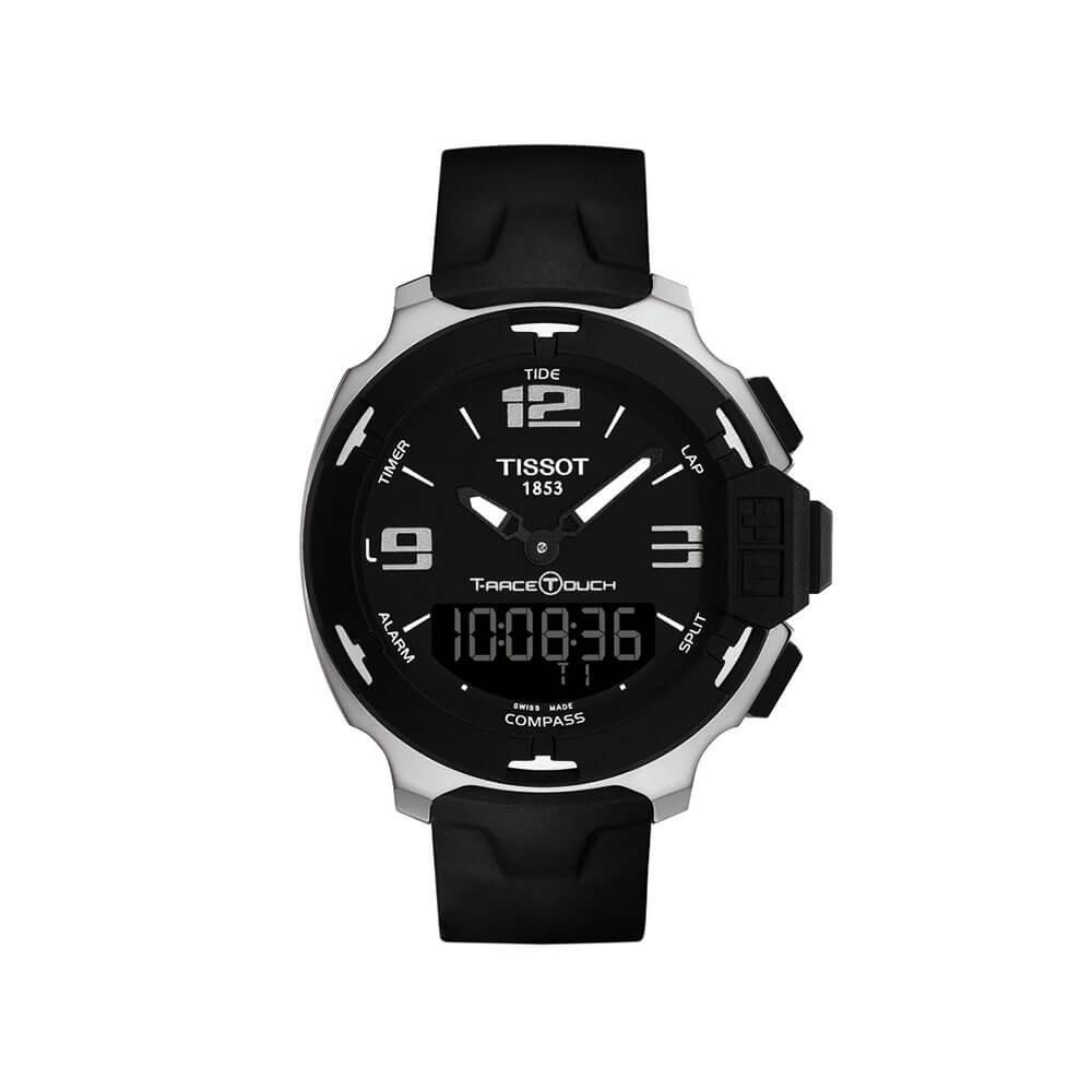 Tissot T-Race Touch T0814201705701 Black Rubber Mens Watch