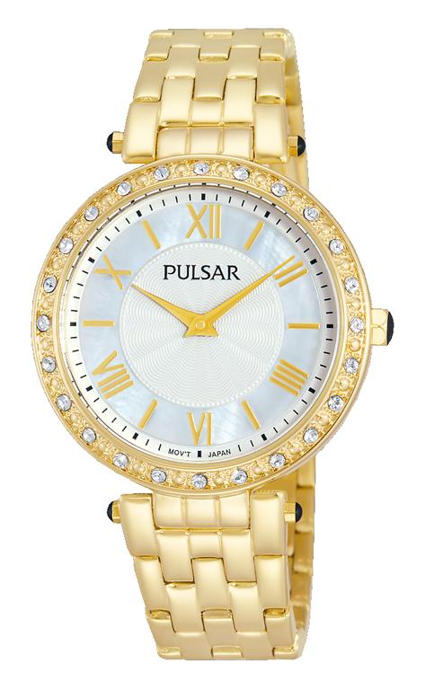 Pulsar PM2106X Stone Set Womens Watch