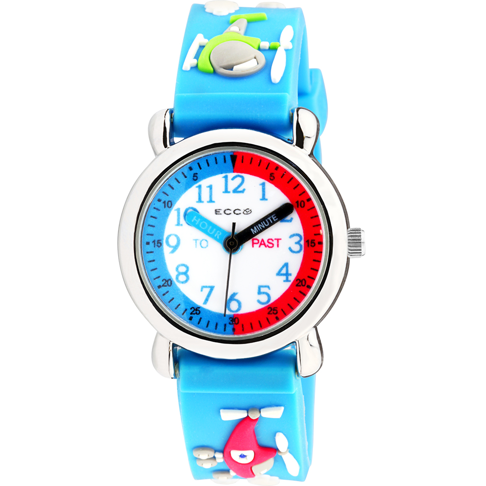 ECC Kids Helicopter Blue Strap Watch