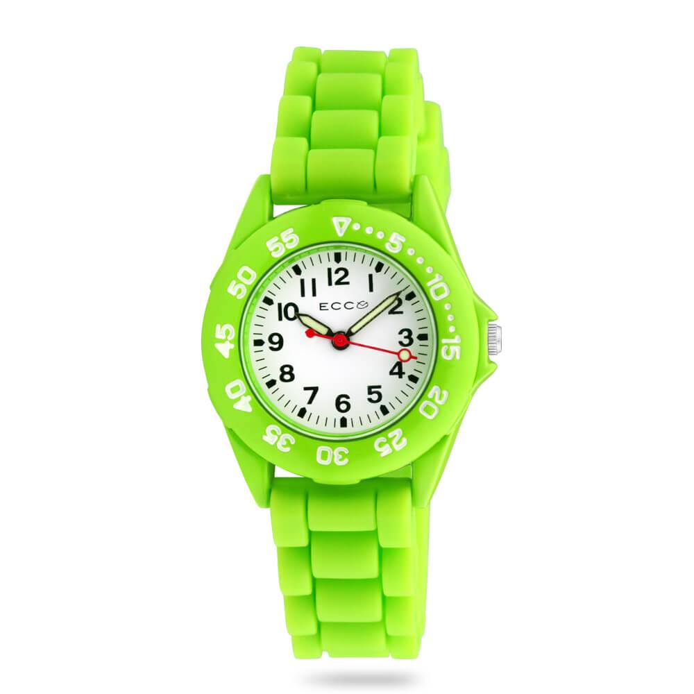 ECC Kids Lime Silicone Strap Watch