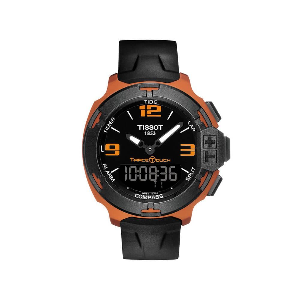 Tissot T-Race Touch T0814209705703 Black Rubber Mens Watch
