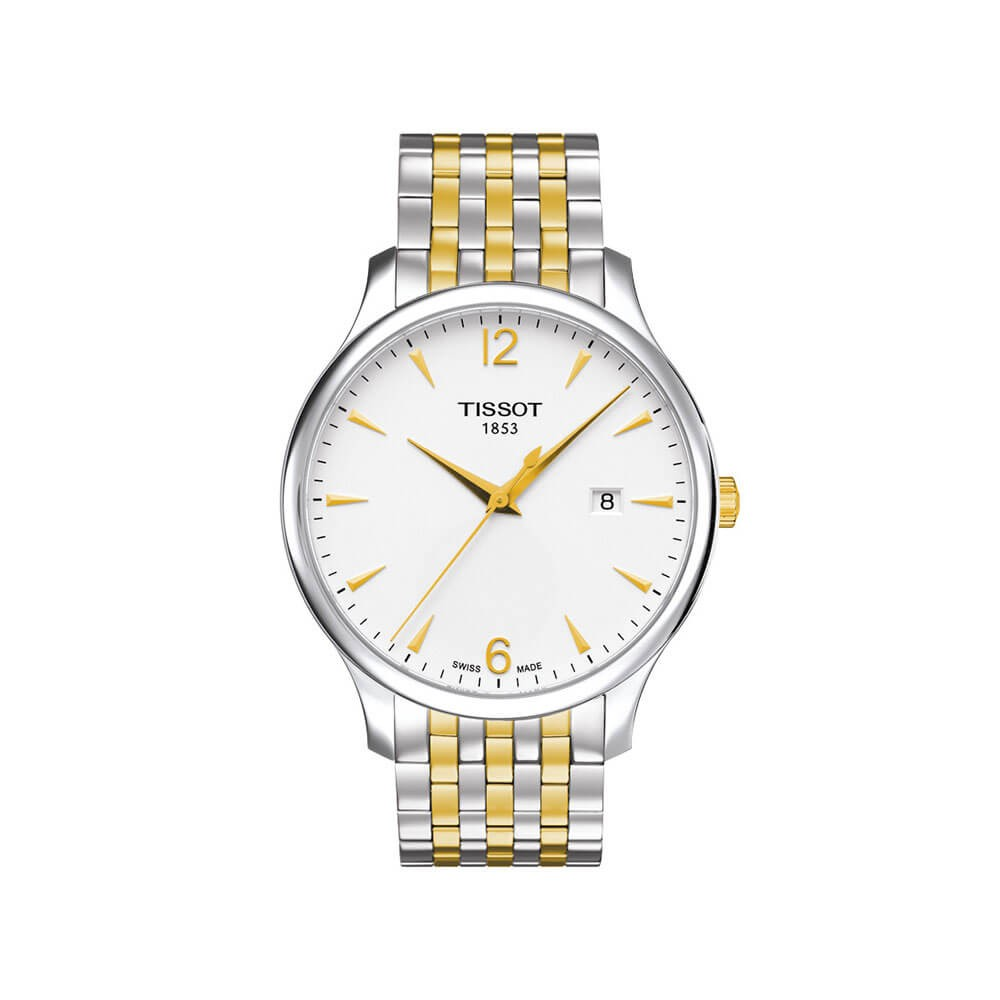 Tissot Tradition T0636102203700 Two-Tone Stainless Steel Mens Watch
