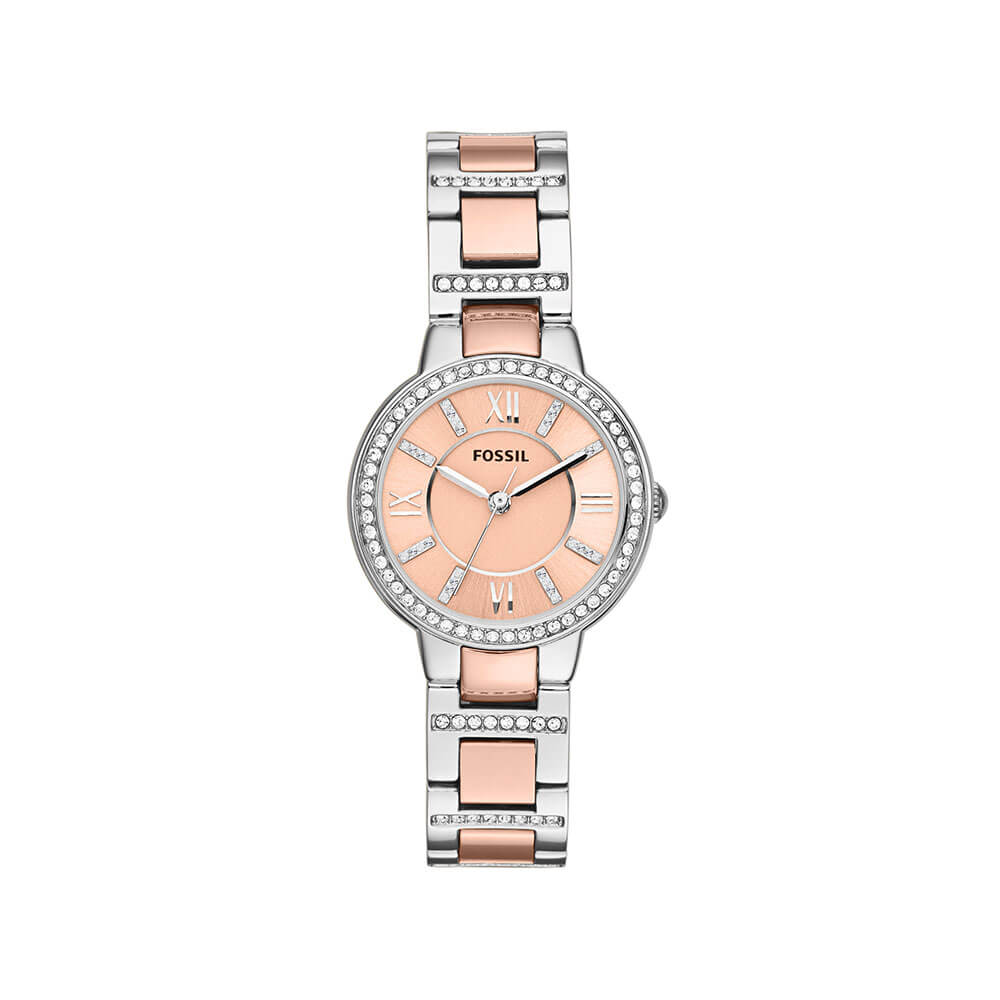 Fossil 'Virginia' ES3405 Ladies Stone Set Watch
