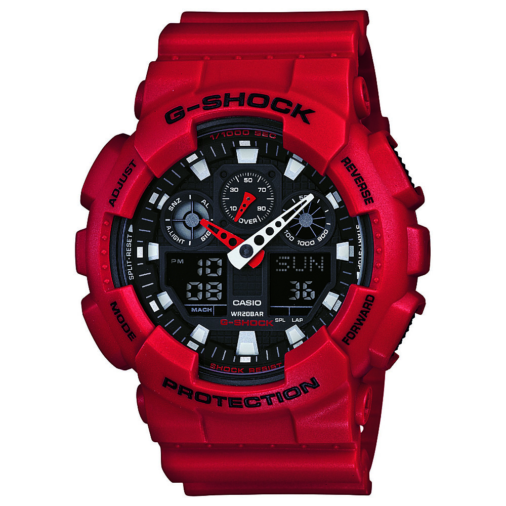 Casio GA100B-4A G-Shock Mens Watch