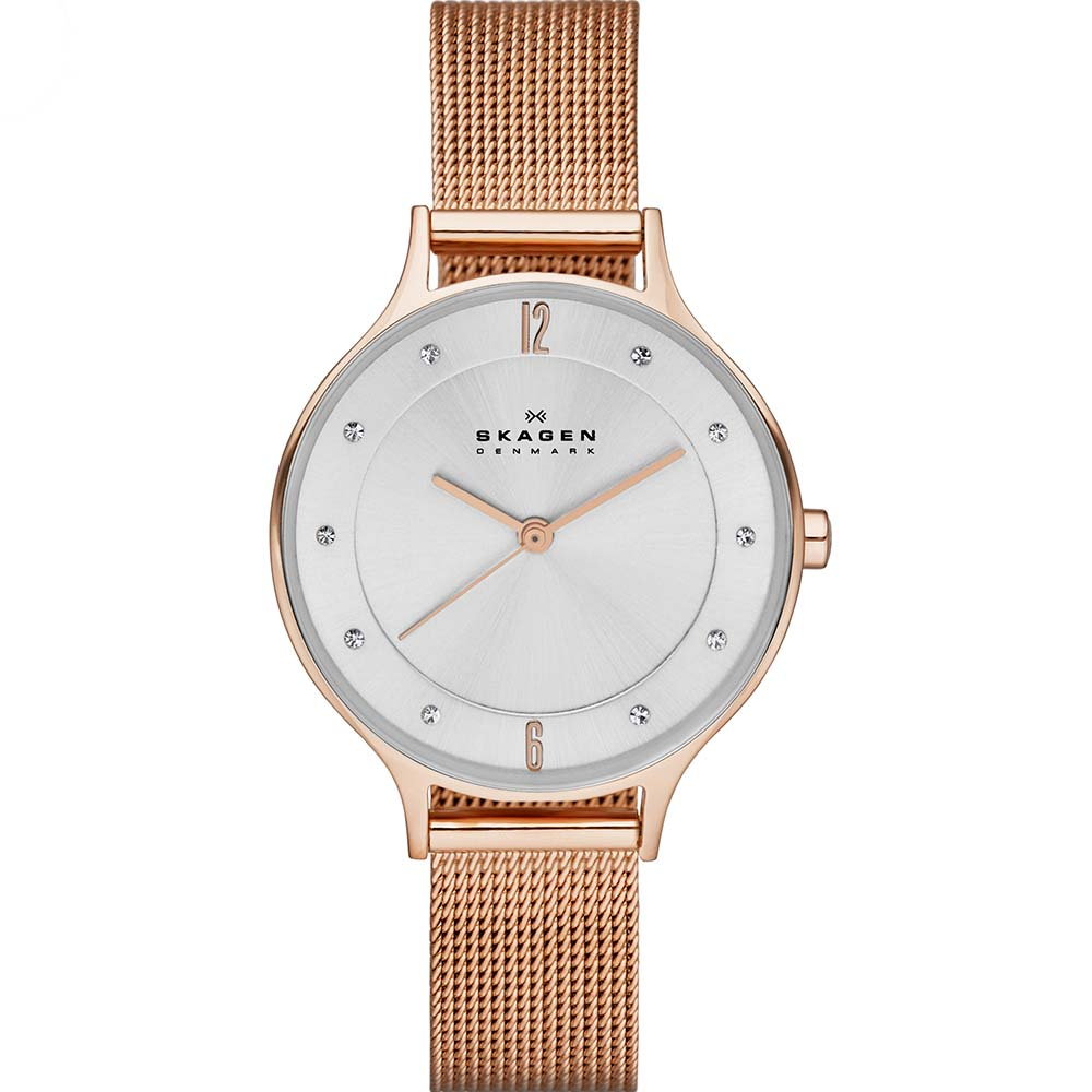 Skagen SKW2151 Anita Steel Mesh Womens Watch