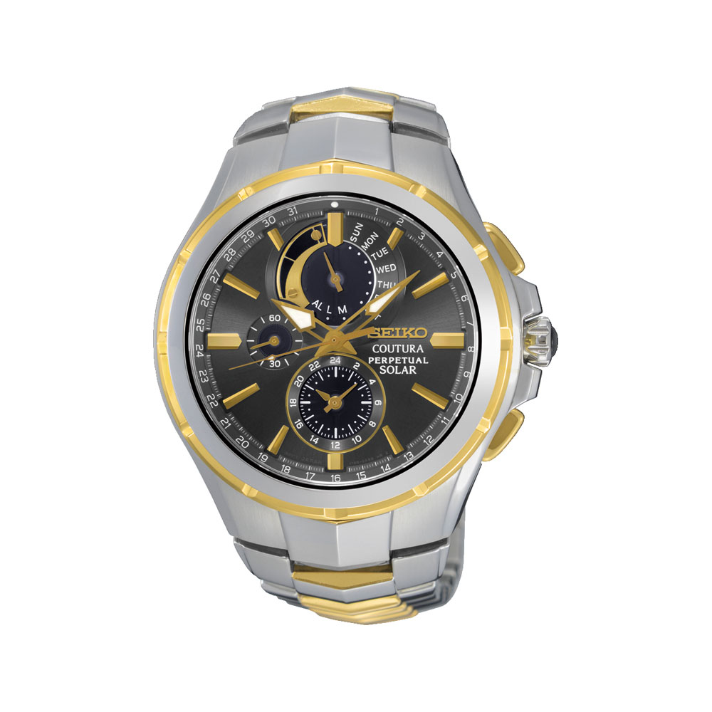 Seiko SSC376P-9 Coutura Perpetual Solar Mens Watch