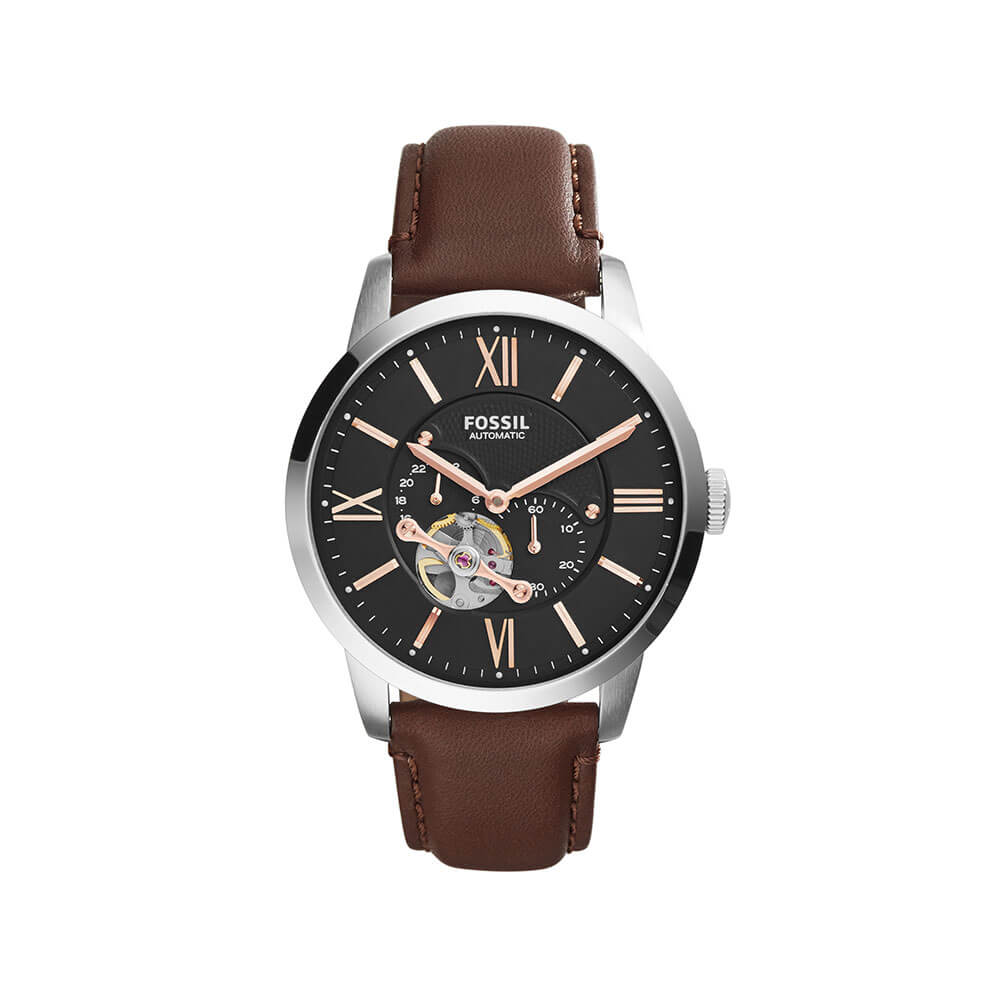 Fossil 'Townsman' ME3061 Brown Leather Gents Watch