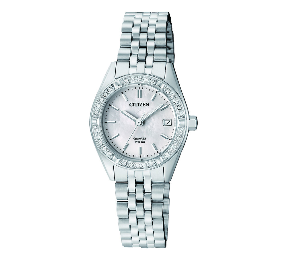 Citizen EU6060-55D Crystal Set Womens Watch