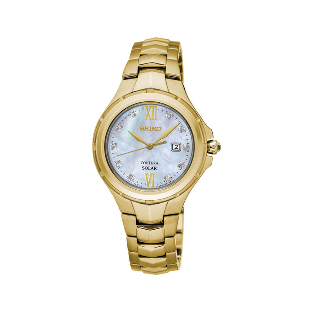 Seiko SUT310P-9 Diamond Set Womens Watch