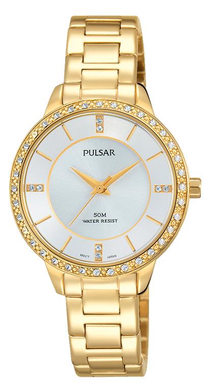 Pulsar PH8218X Stone Set Womens Watch