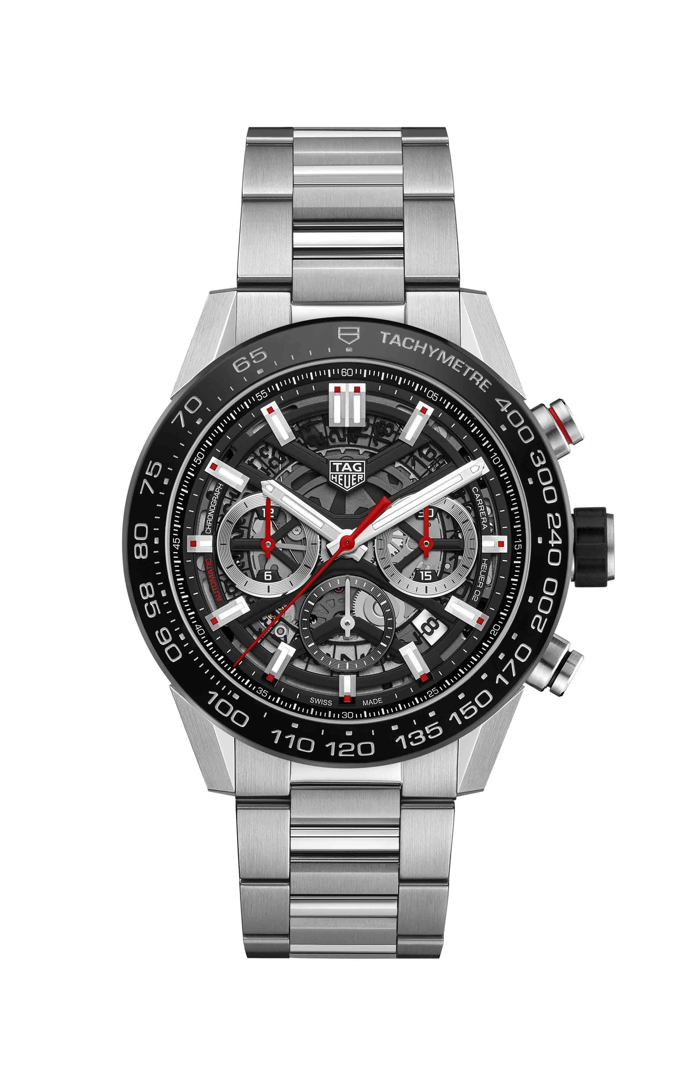 TAG Heuer CAR2A1WBA0703 Heuer 01 Chronograph Mens Watch