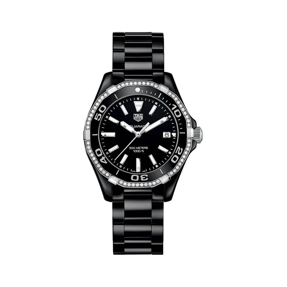 TAG Heuer Aquaracer WAY1395BH0716 Diamond Set Womens Watch