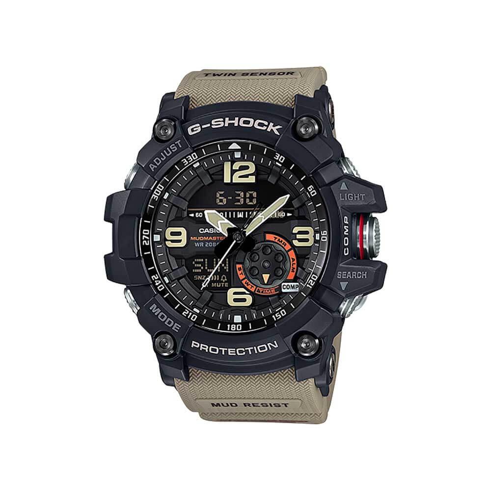 G-Shock MASTER OF G MUDMASTER Twin Sensor GG1000-1A5