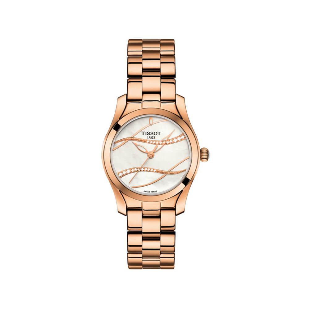 Tissot T-Wave T1122103311100 Diamond Set Womens Watch