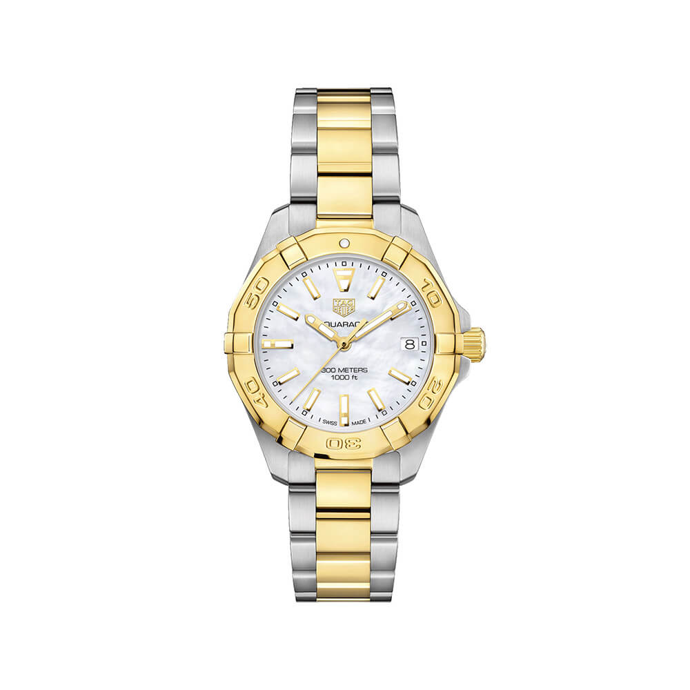 TAG Heuer Aquaracer Mother of Pearl Dial Ladies Watch WBD1320.BB0320