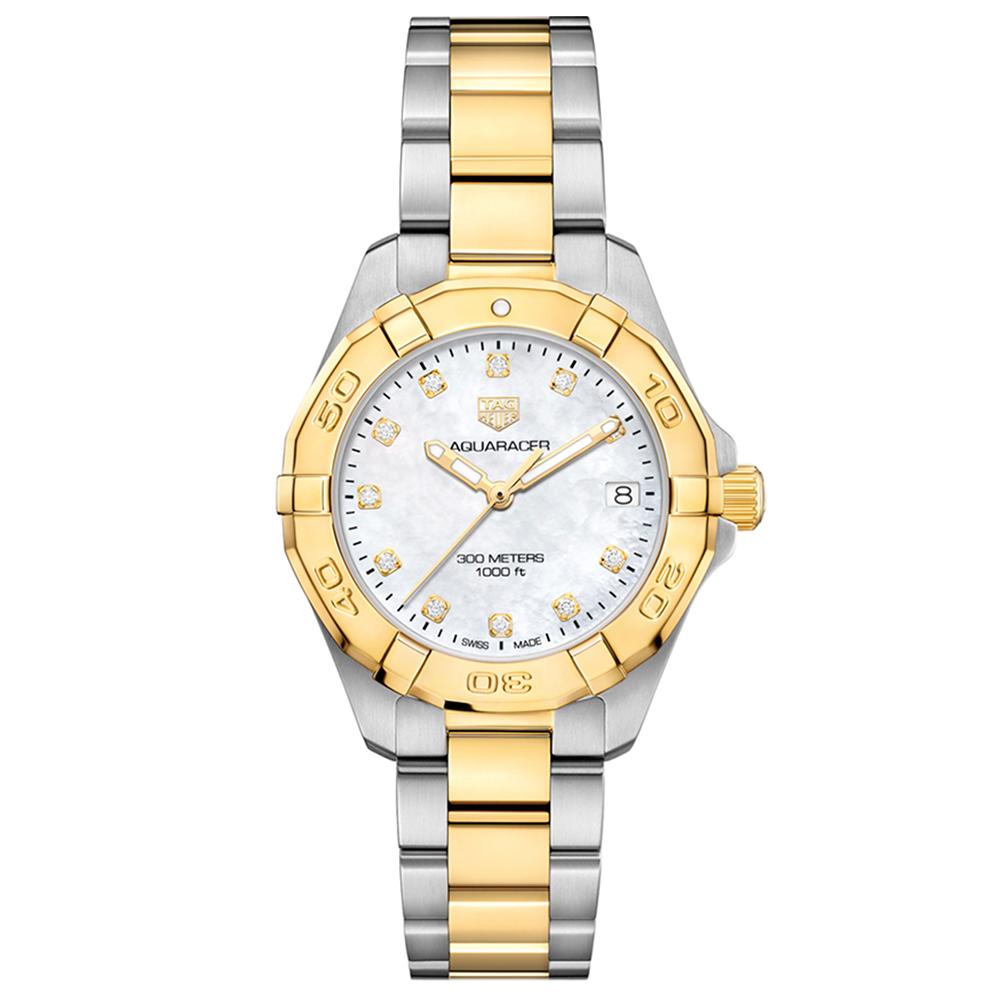 TAG Heuer Aquaracer WBD1322BB0320 Diamond Set Womens Watch