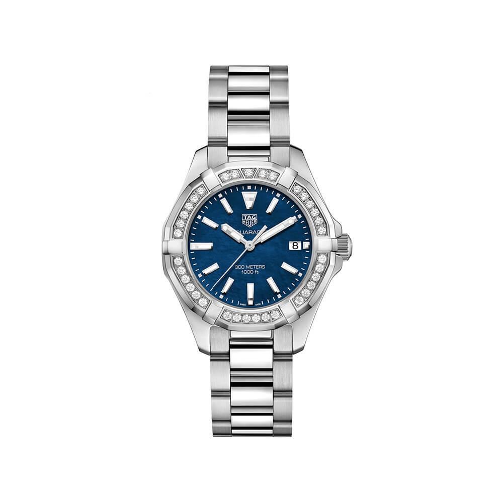 TAG Heuer Aquaracer WAY131NBA0748 Diamond Set Womens Watch