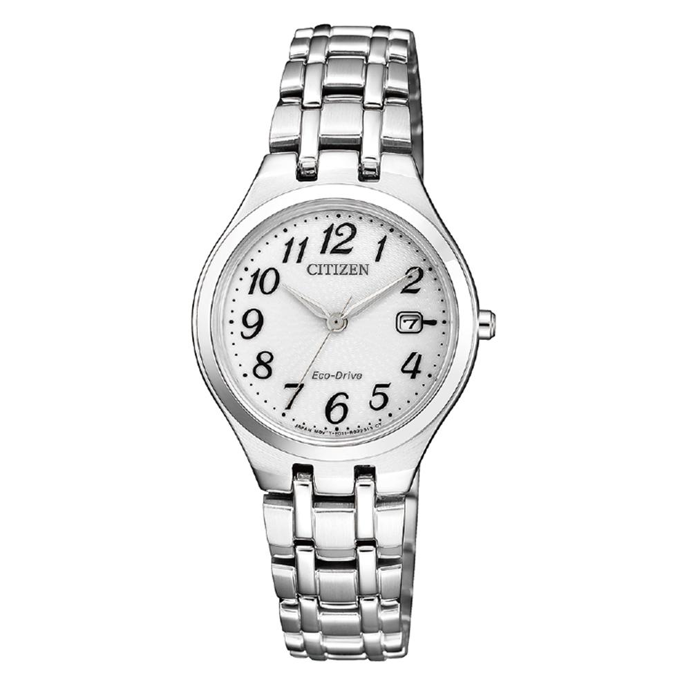 Citizen Eco-Drive EW2480-83A Silver Tone Womens Watch