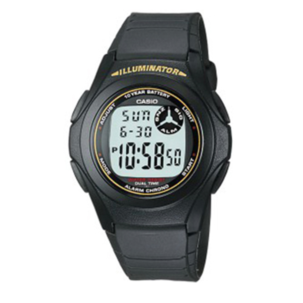Casio Digital F200W-9A Watch