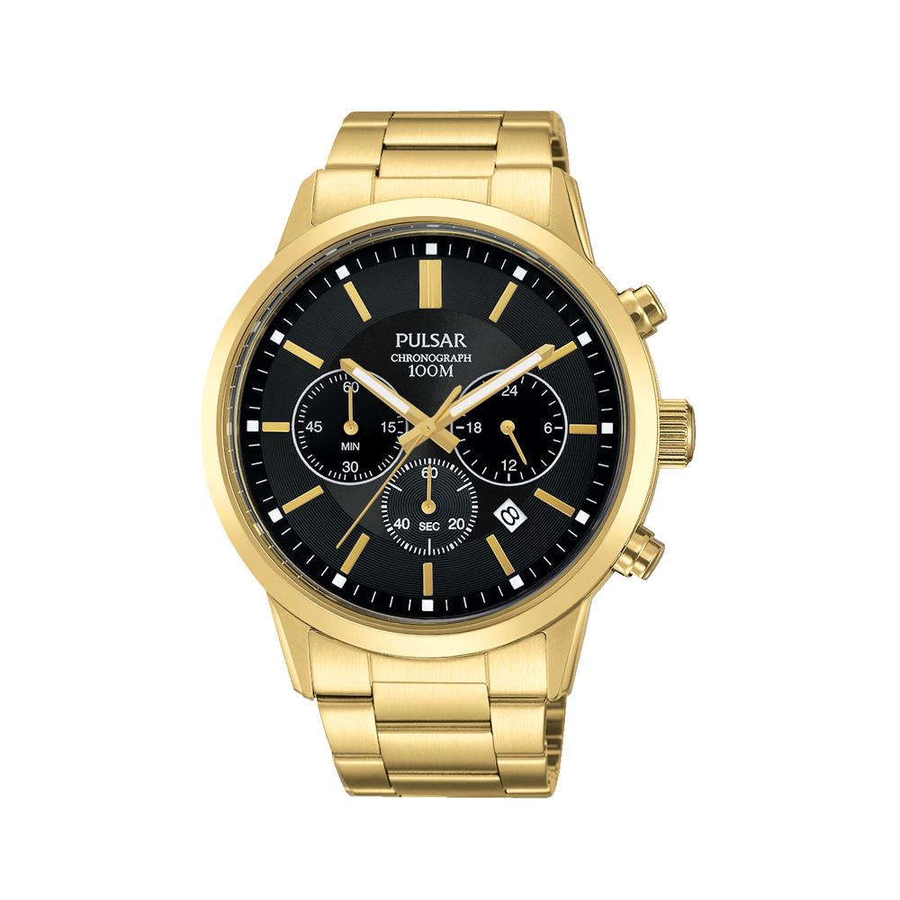 Pulsar PT3748X Mens Chronograph Watch