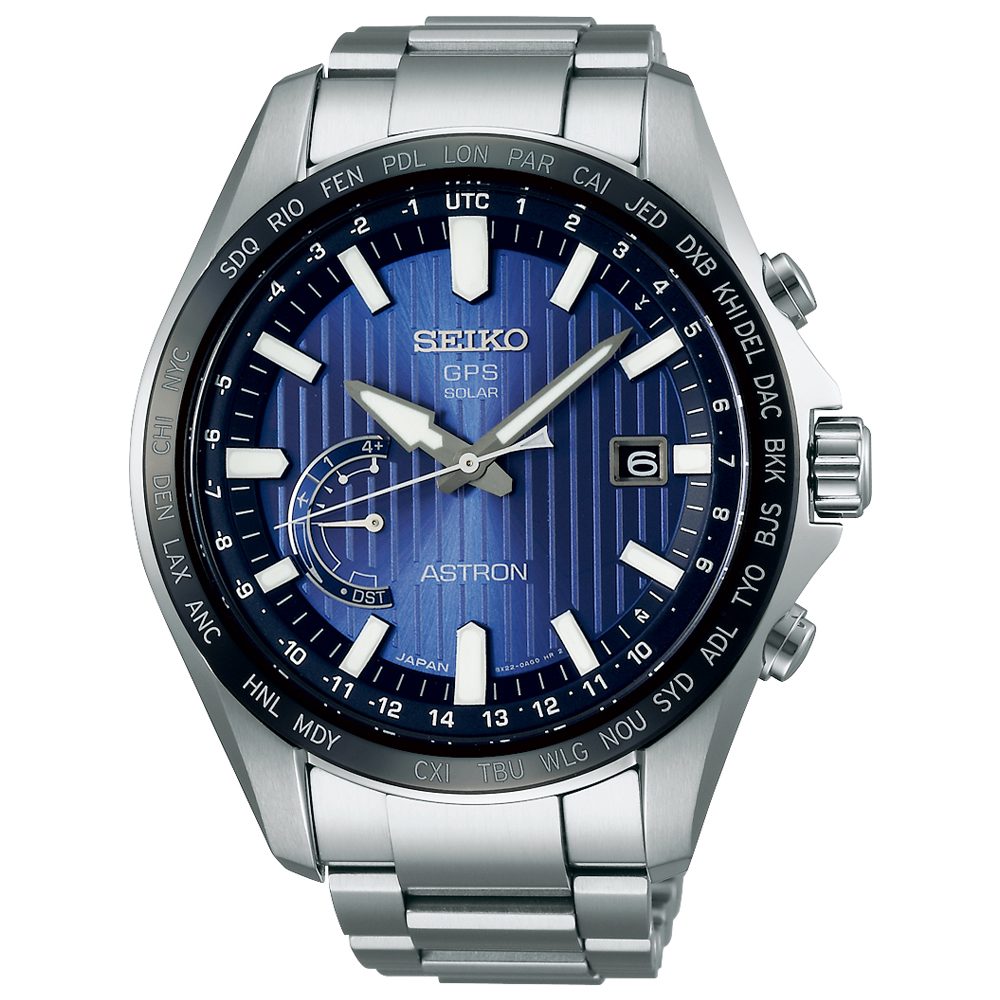 Seiko Astron SSE159J Stainless Steel Mens Watch
