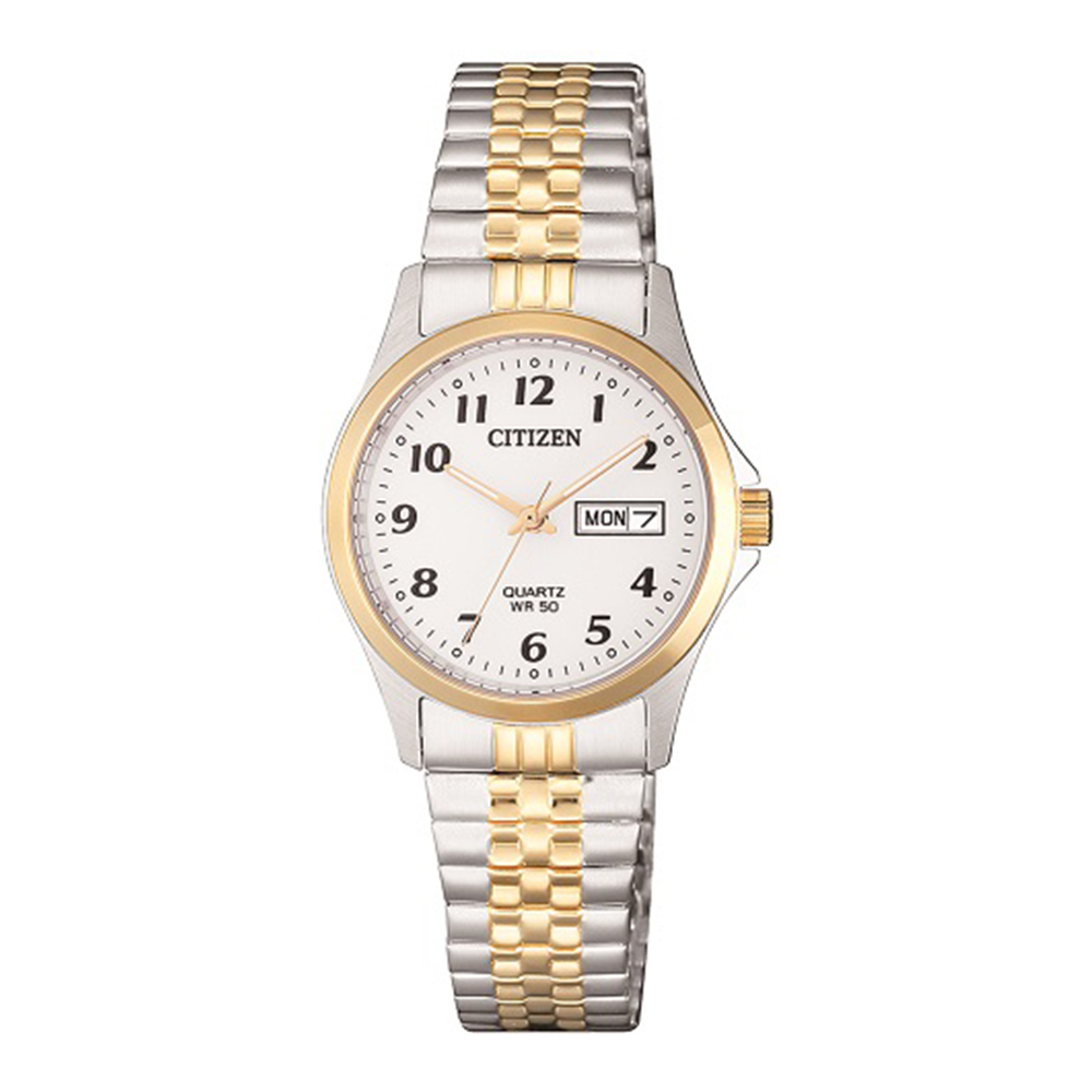 Citizen EQ200495A Two Tone Stainless Steel Ladies Watch