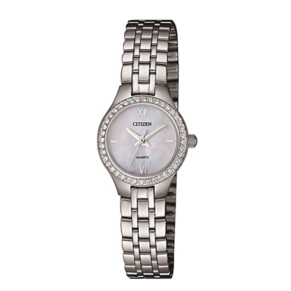 Citizen EJ614057D Silver Swarovski Crystal Ladies Watch