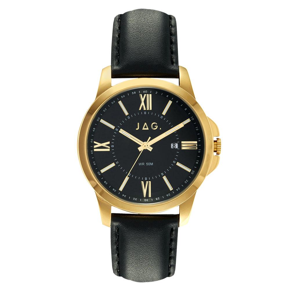 Jag Xavier J2156A Mens Gold Watch