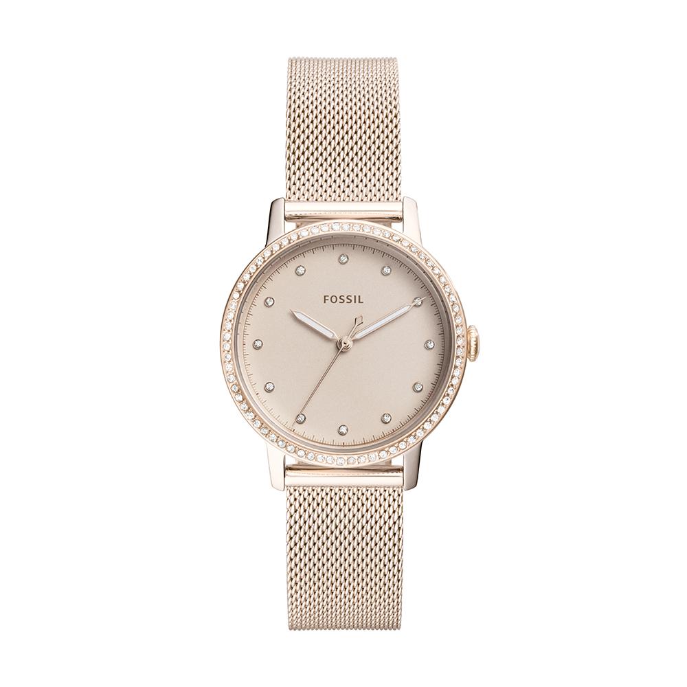 Fossil ES4364 Ladies Rose Mesh Watch