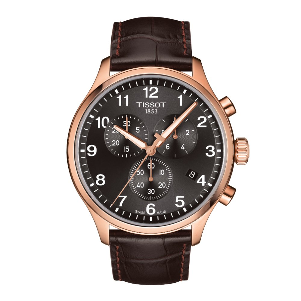 Tissot Chrono XL Classic T1166173605701 Mens Rose Gold Chronograph Watch