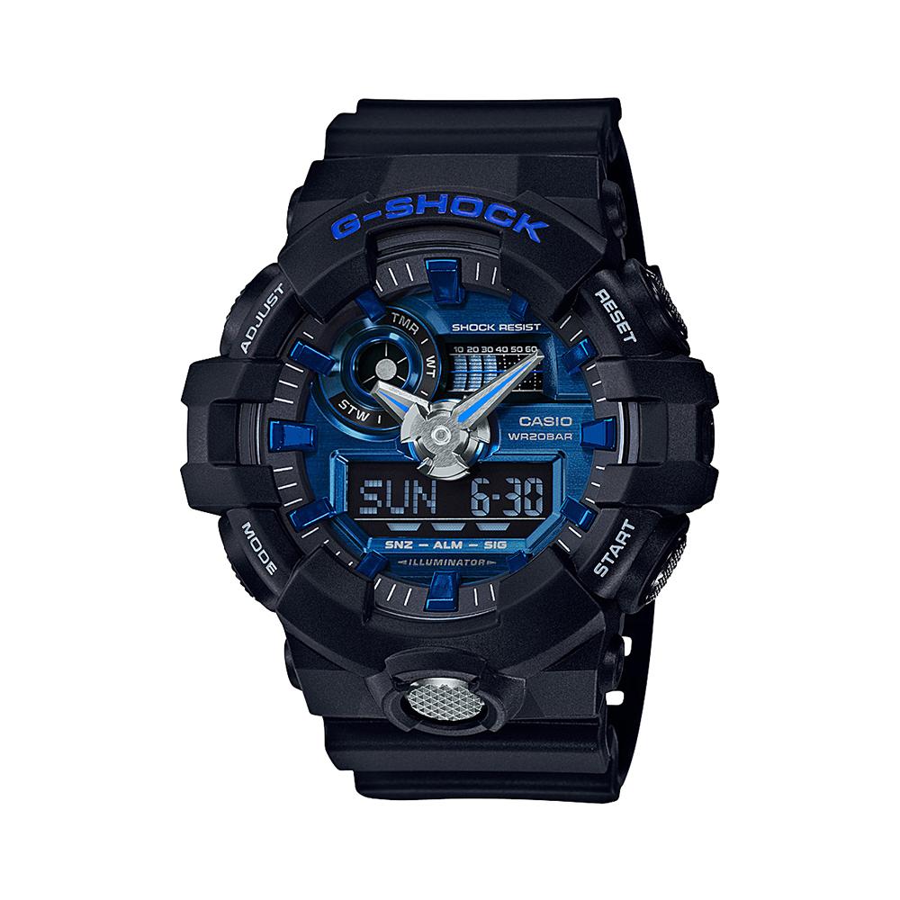 Casio G-Shock GA710-1A2 Black Mens Watch