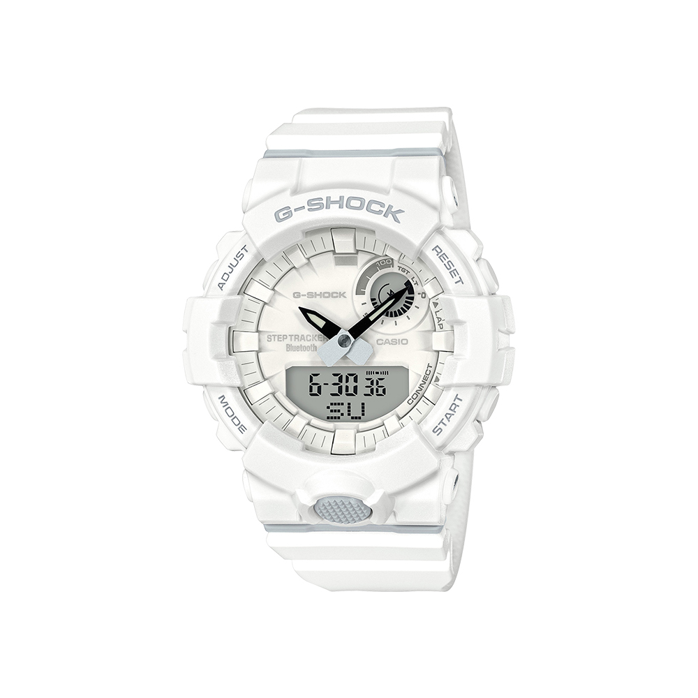 Casio G-Shock GBA800-7A 200m White Step Tracker Mens Watch