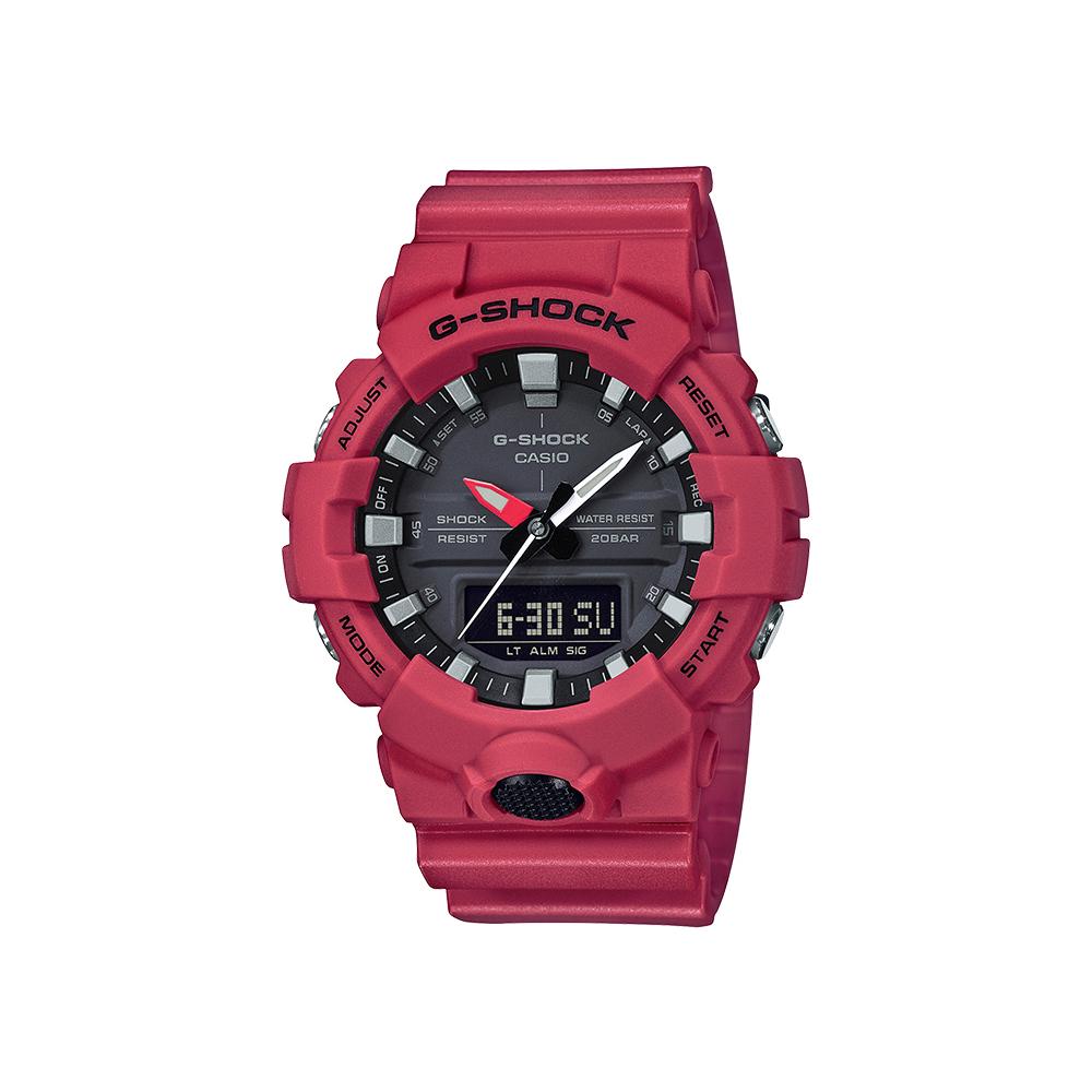 Casio G-Shock GA800-4A 200m Red Mens Watch