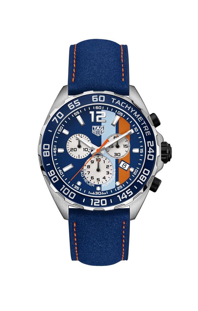 TAG Heuer Formula 1 Special Edition Gulf CAZ101N.FC8243 Chronograph Mens Watch