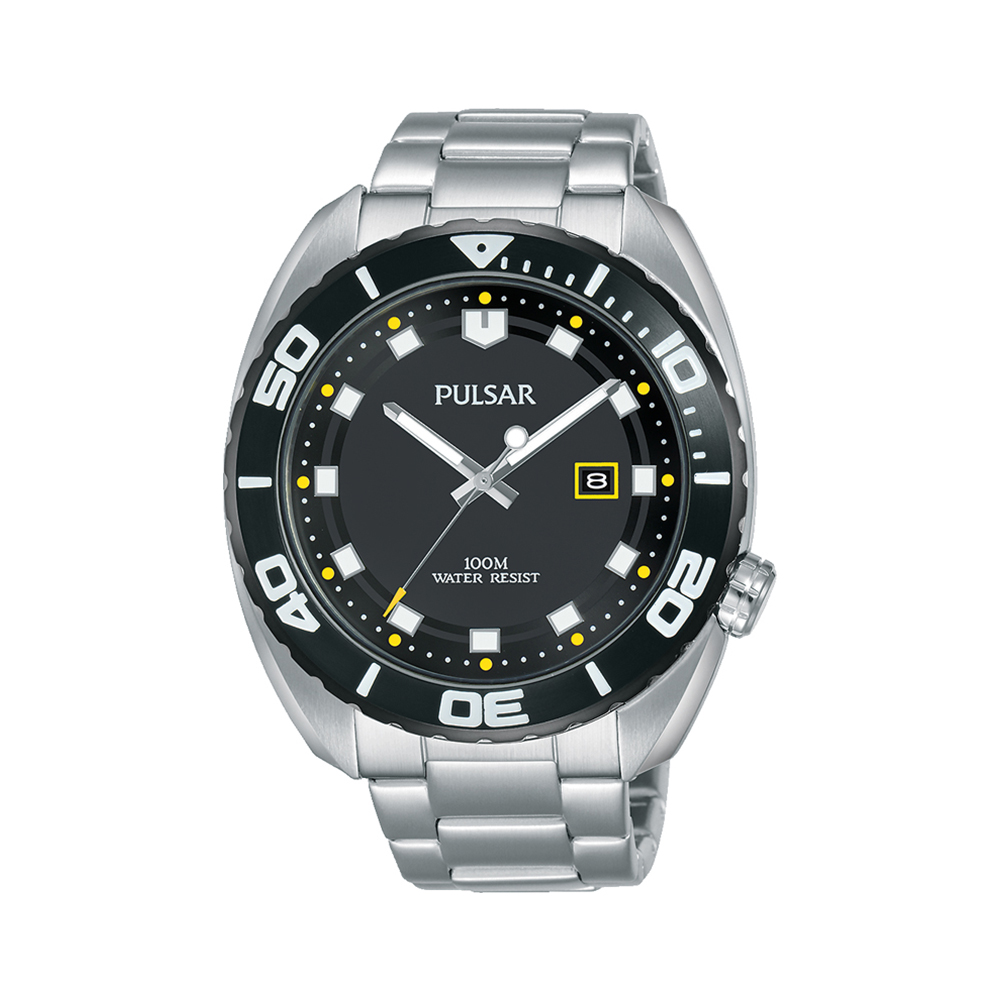 Pulsar PG8283X Stainless Steel Mens Watch