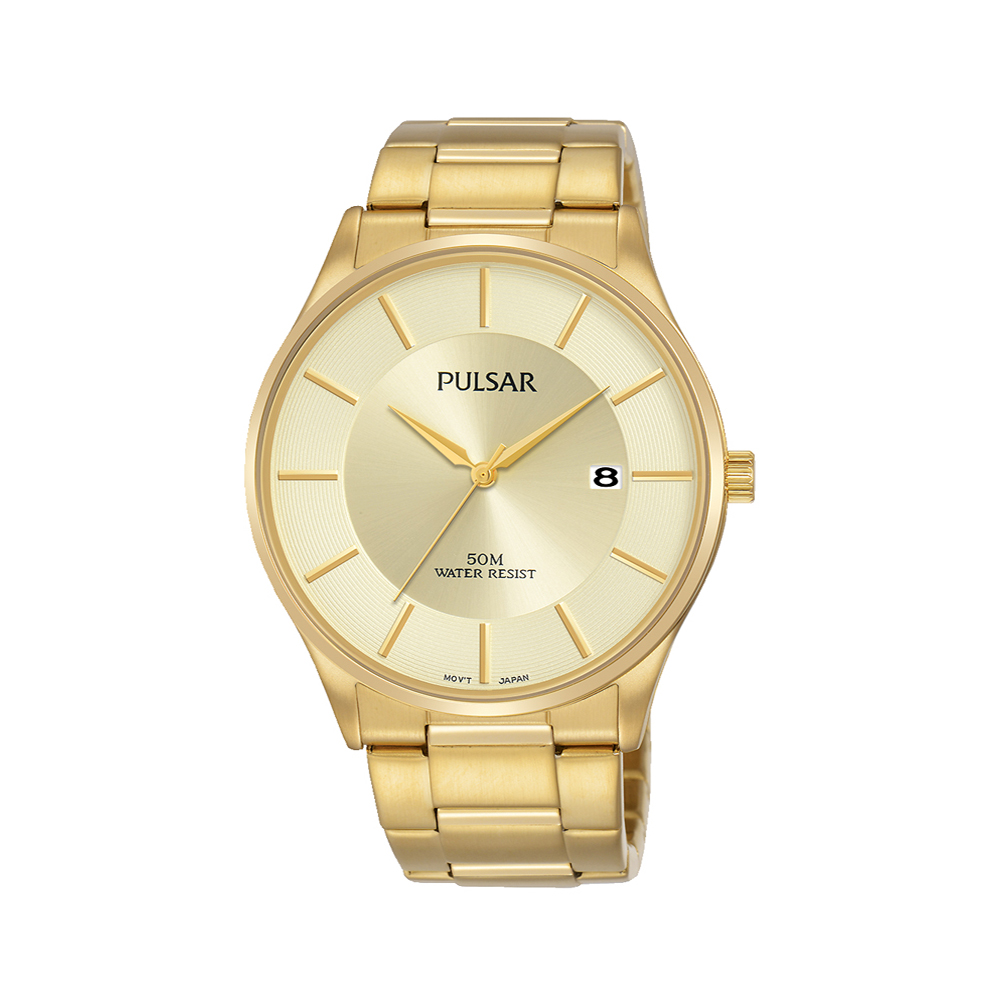 Pulsar PS9592X Gold Plated Stainless Steel Mens Watch