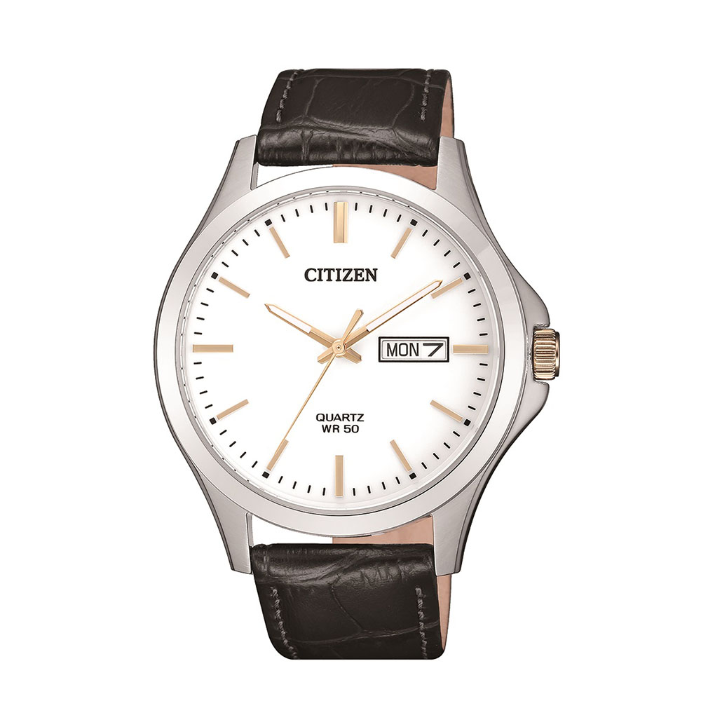 Citizen BF2009-11A Stainless Steel Silver And Black Mens Watch