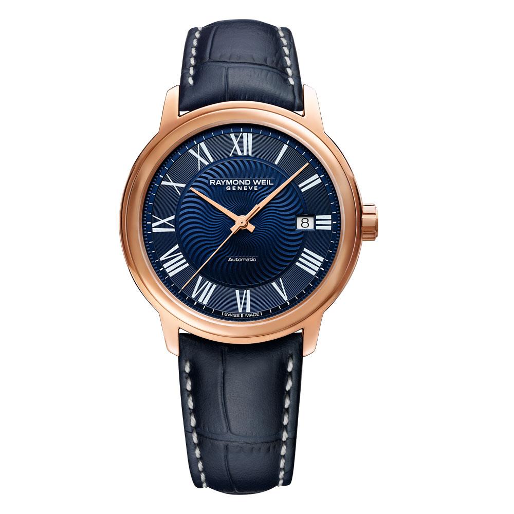Raymond Weil Maestro 2237PC500508 Blue leather Mens Watch