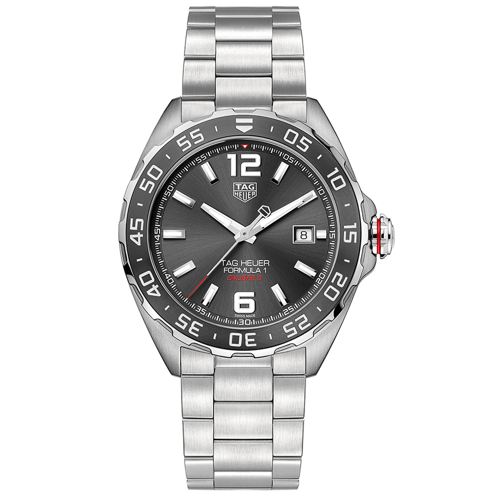 TAG Heuer Formula 1 WAZ2011.BA0842 Silver Stainless Steel Mens Watch
